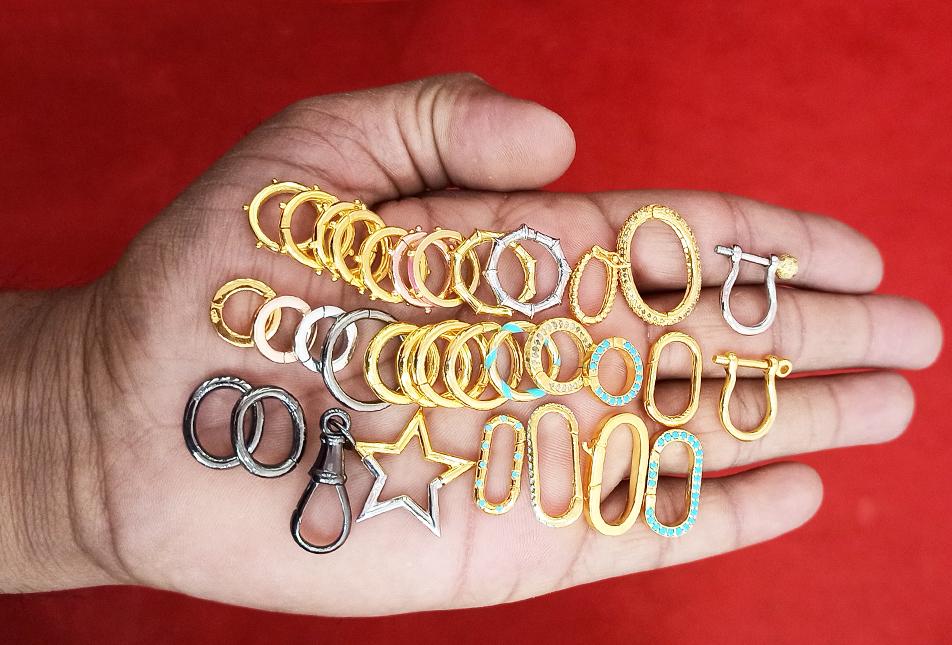 Charm Holder locks